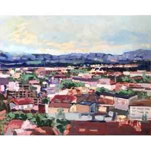 Gabriela Paluch, Miasto o poranku, 2021