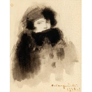 Alfons Karpiński (1875-1961), Portret damy