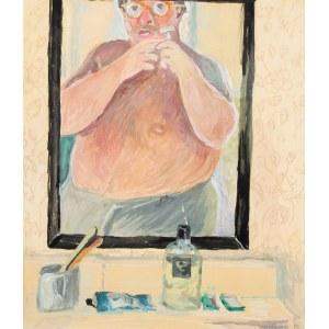 Jan Szancenbach (1928-1998), Autoportret w lustrze