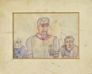 Nikifor KRYNICKI (1895-1968), Trzy postacie