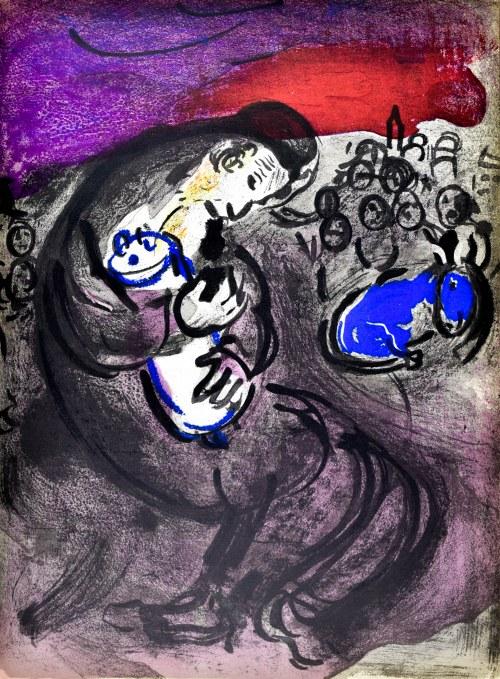 Marc CHAGALL (1887 - 1985), Lament Jeremiasza, 1956