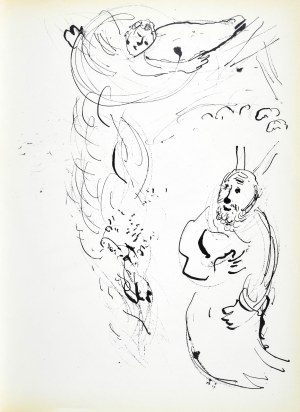 Marc CHAGALL (1887 - 1985), Moses with the Tablets of Law, 1956