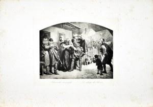 Artur GROTTGER (1837-1867), Schronisko rannych