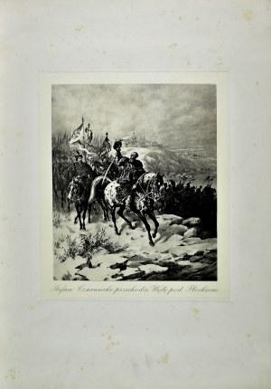 Juliusz KOSSAK (1824-1899), Stefan Czarnecki przechodzi Wisłę pod Płockiem
