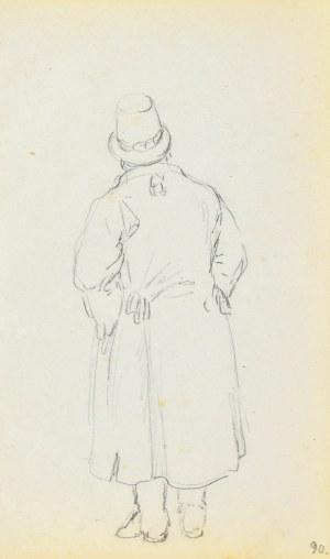 Jacek MALCZEWSKI (1854-1929), Postać chłopa ukazana od tyłu