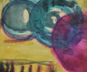 Krystyna PELLETIER (1914-2007), Kompozycja geometryczna