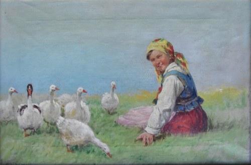 Adam Setkowicz (1875-1946), Gęsiarka