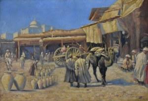 Jan Berger (1863 - 1930), Taszkient: uliczka w starym mieście