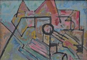 Klaudiusz Jędrusik (1928-1986), Kompozycja VI, 1977