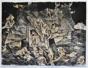 Stefan Suberlak (1928-1994), Powódź I, 1970