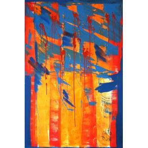 Edyta Dzierż, 1977, Strumień koloru/1, 2019