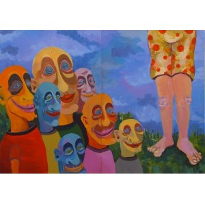 Carlos Garcia Miralles, 1990, Bez tytułu, dyptyk, 2013