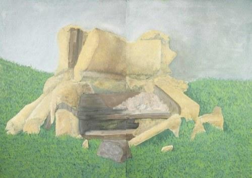 Radosław Kozłowski, 1990, Bez tytułu, dyptyk, 2013