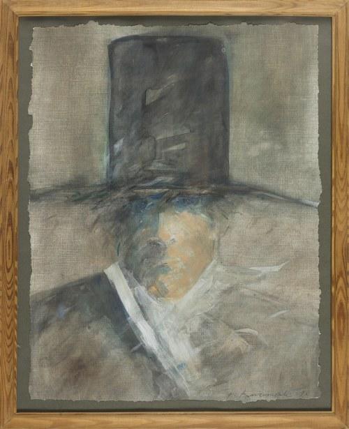Roman BANASZEWSKI, Mężczyzna w cylindrze