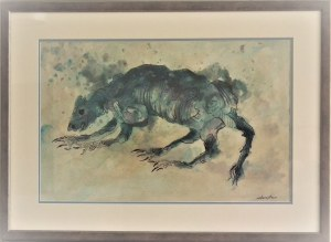 Jan Lebenstein(1930-1999) ,Zwierzę