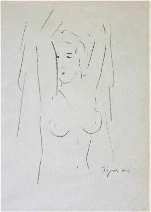 Tymon Niesiołowski(1882-1965),Akt
