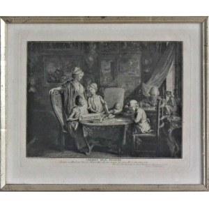 Daniel Chodowiecki(1726-1801),Cabinet d'un peintre