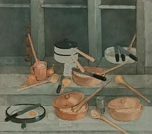 Kiejstut BEREŹNICKI (ur. 1935), Martwa natura wiejska,1985