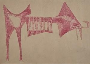 Zdzisław BEKSIŃSKI (1929-2005), Bez tytułu, 1956