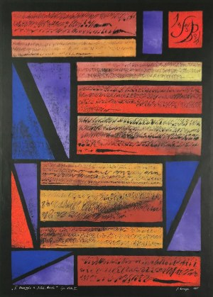 Janina KRAUPE-ŚWIDERSKA (1921-2016), II Omaggio a J. S. Bach, 1995