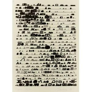 Jan TARASIN (1929-2009), Zapis, 1983