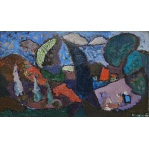 Kazimierz PODSADECKI (1904-1970), Drzewa na wietrze, 1958