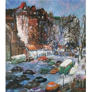 Jan SZANCENBACH (1928-1998), Rue Saint Denis o zmierzchu, 1996