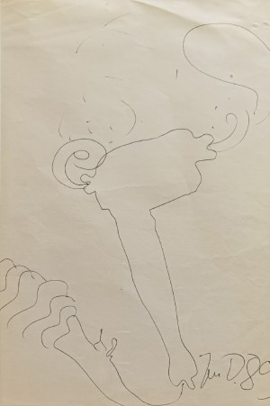 Jan DOBKOWSKI (ur. 1942), Bez tytułu, 1989
