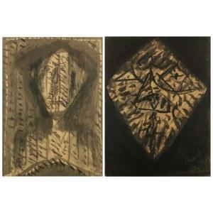 Jerzy PANEK (1918-2001), Para rysunków, 1962