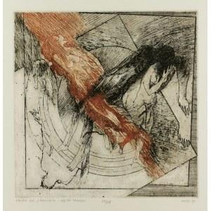 Jacek WALTOŚ (ur. 1938), Fedra według J. Racine'a - Węzeł Tragedii, 1973