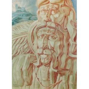 Stanisław SZUKALSKI (1893-1997), Dziedzic - projekt rzeźby