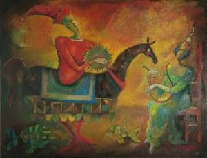 Jan Bonawentura OSTROWSKI (ur. 1946), Lajkonik, 1996