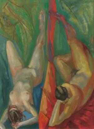 Romuald ORAMUS (ur. 1953), Obok siebie, 1990/91