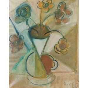 ELISABETH RONGET (1893-1962), Kwiaty w wazonie [kubistyczne]
