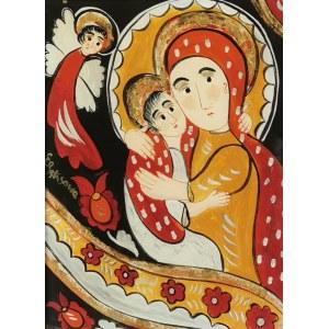 Ewelina PĘKSOWA (1923-2015), Madonna z Dzieciątkiem
