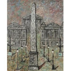 Alicja HALICKA (1894-1975), Obelisk na Place de la Concorde w Paryżu