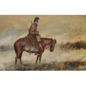 Juliusz HOLZMÜLLER (1876-1932), Pogranicznik na koniu