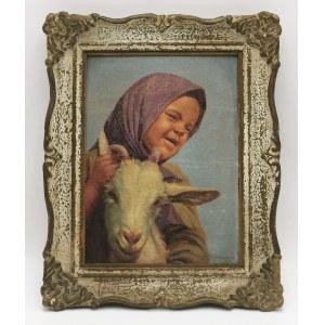 Konstanty SZEWCZENKO (1910-1991), Dziewczynka z kózką