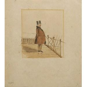 Malarz nieokreślony, zachodnioeuropejski XIX w., Postać mężczyzny
