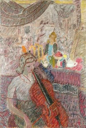 Wacław TARANCZEWSKI (1903-1987), Koncert w atelier II, 1948
