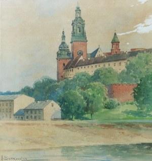 Adam SETKOWICZ (1876-1945), Widok na Wawel