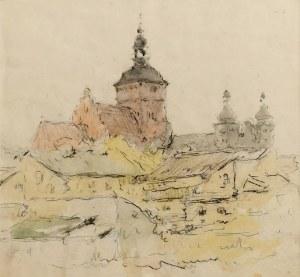 Tadeusz CIEŚLEWSKI (1870-1956), Widoki na Piotrków Trybunalski, lata 40. XX w.