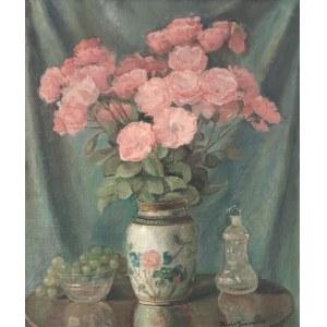 Błażej IWANOWSKI (1889-1966), Kwiaty w wazonie