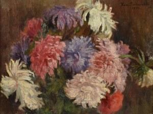 Kazimierz POCHWALSKI (1855-1940), Astry, 1924