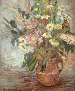 Kazimierz KOPCZYŃSKI (1908-1992), Kwiaty w wazonie