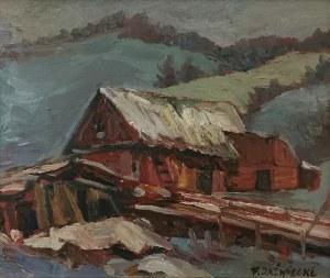 Franciszek JAŹWIECKI (1900-1946), Chata w górach