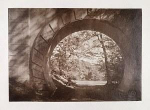 """Jan BUŁHAK (1876-1950), Zestaw trzech fotografii; z cyklu: """"Warszawa - Stare Miasto"""" i """"Natolin""""."""