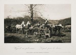 Józef BRANDT (1841-1915), Wyjazd na polowanie, 1884
