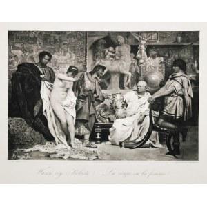 Henryk SIEMIRADZKI (1843-1902), Wazon czy kobieta, 1884