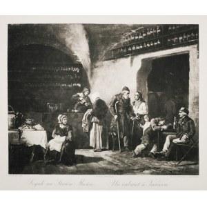 Henryk PILLATI (1832-1894), Szynk na Starym Mieście, 1884